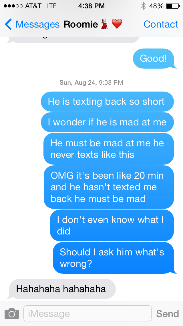 What To Text To Evict A Guy On